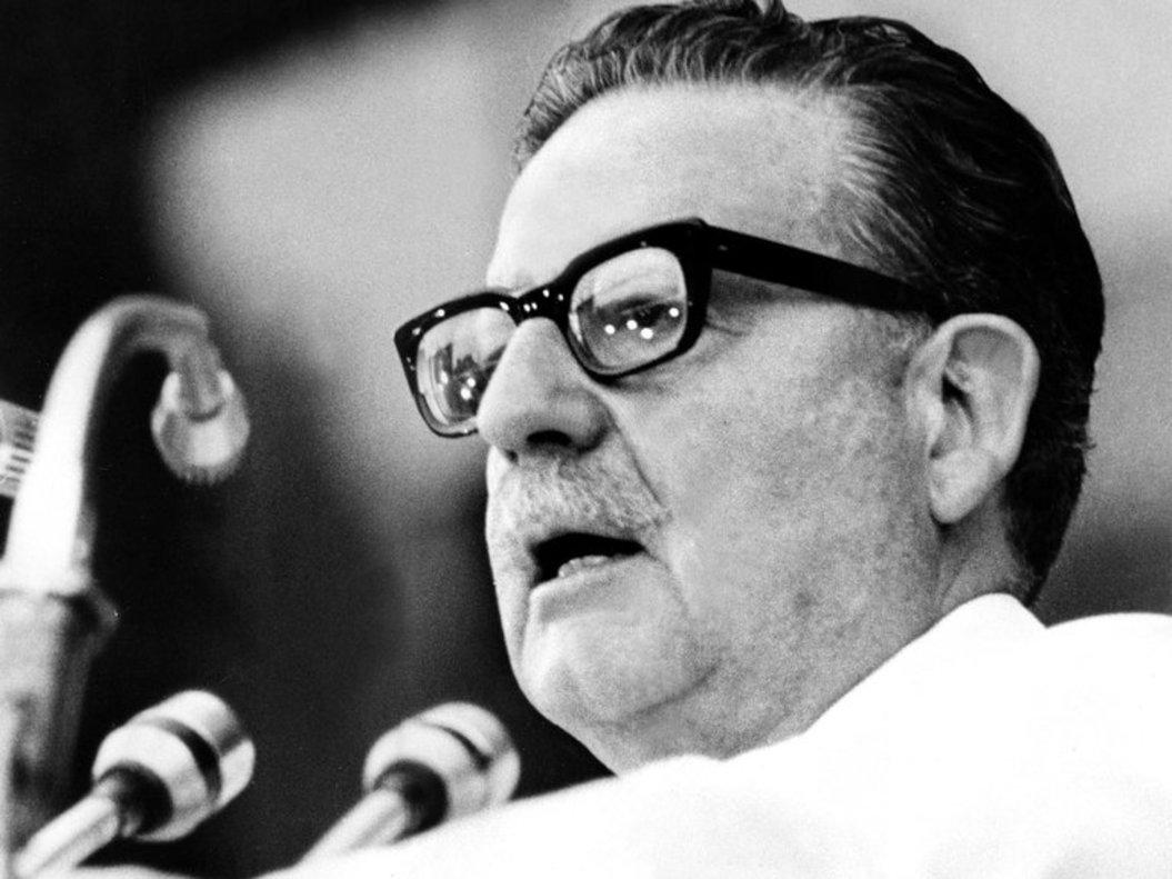 Salvador Allende, expresidente de Chile.