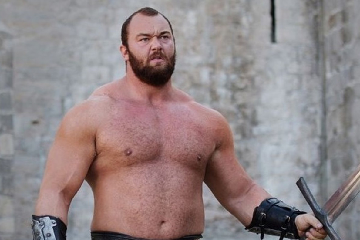 La Montaña de 'Juego de tronos' se corona como el hombre más fuerte del mundo