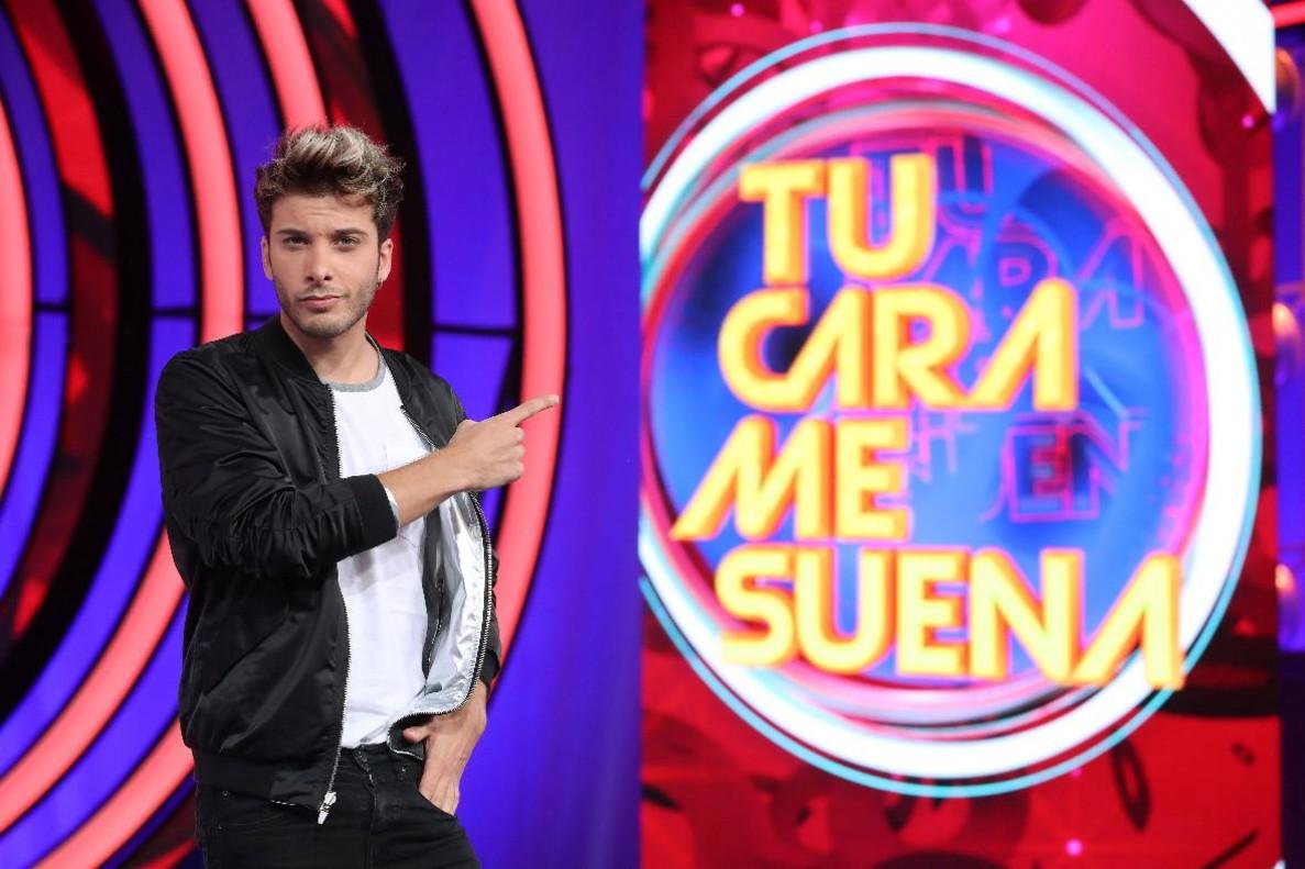 El cantante Blas Cantó, en Tu cara me suena (Antena 3).