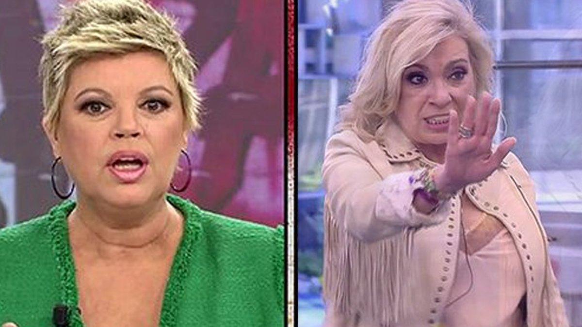 Carmen Borrego estalla contra Terelu Campos por elegirla como criada en 'Sálvame Okupa'