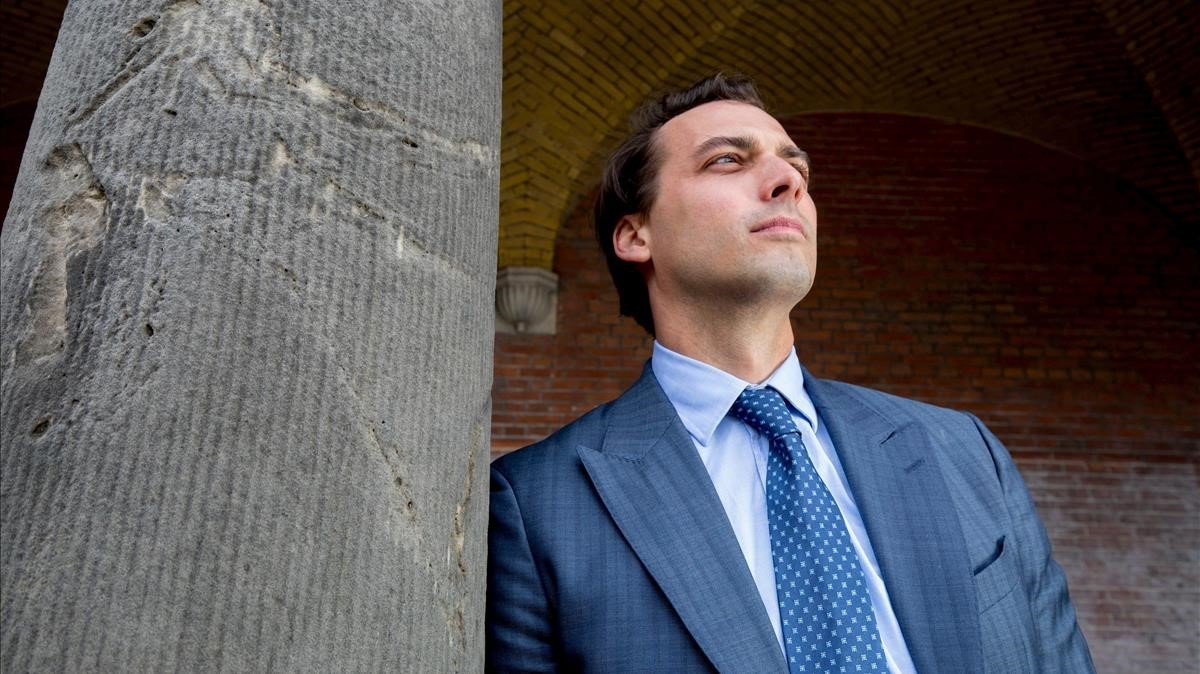Thierry Baudet, líder de la formación ultra holandesa Foro por la Democracia.