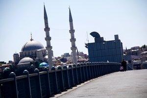 Una estampa de Estambul.