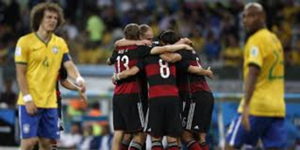 Una imagen del Brasil-Alemania que acabó en 1-7 en el Mundial del 2014.