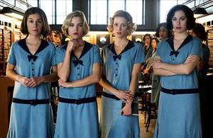 Nadia de Santiago,Ana Fernández,Maggie Civantos y Blanca Suárez,protagonistas de 'Las chicas del cable'.