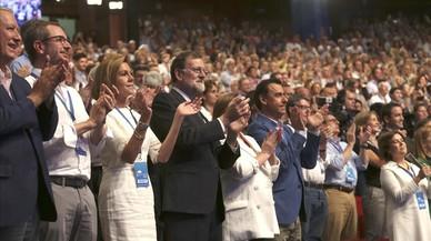 Rajoy reivindica su legado y evita señalar a ninguno de los aspirantes