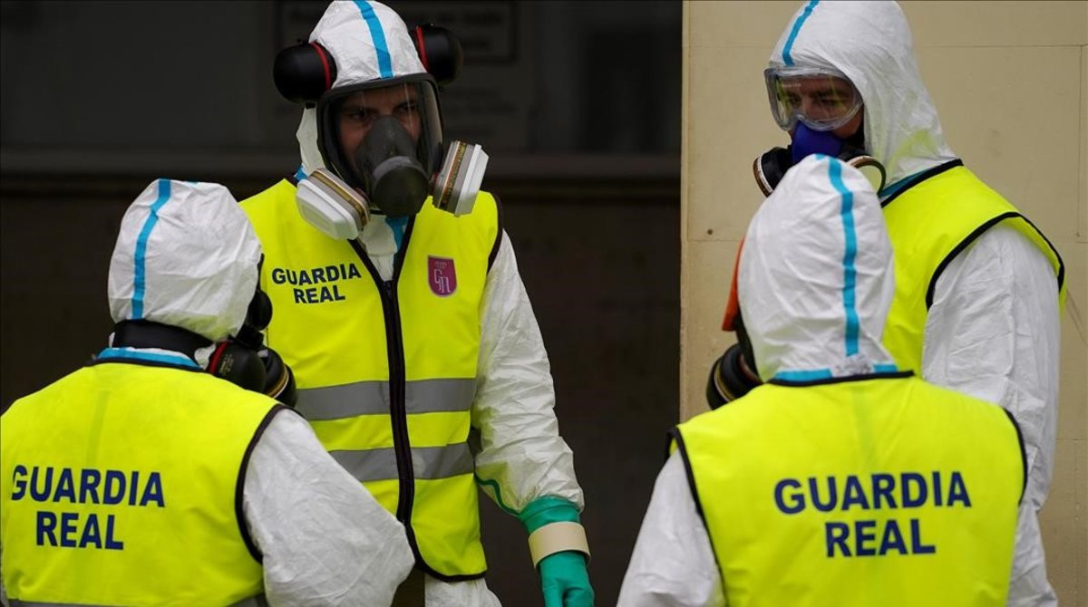 Investigada una residència a Madrid per ocultar material de protecció