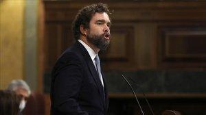 Vox avisa l'arc parlamentari de possible vot ocult a favor de la moció de censura