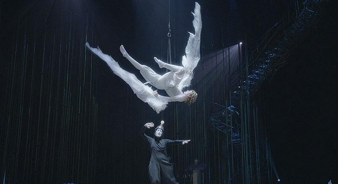 El espectáculo 'Varekai', del Cirque du Soleil, estará en Barcelona del 1 al 10 de enero.