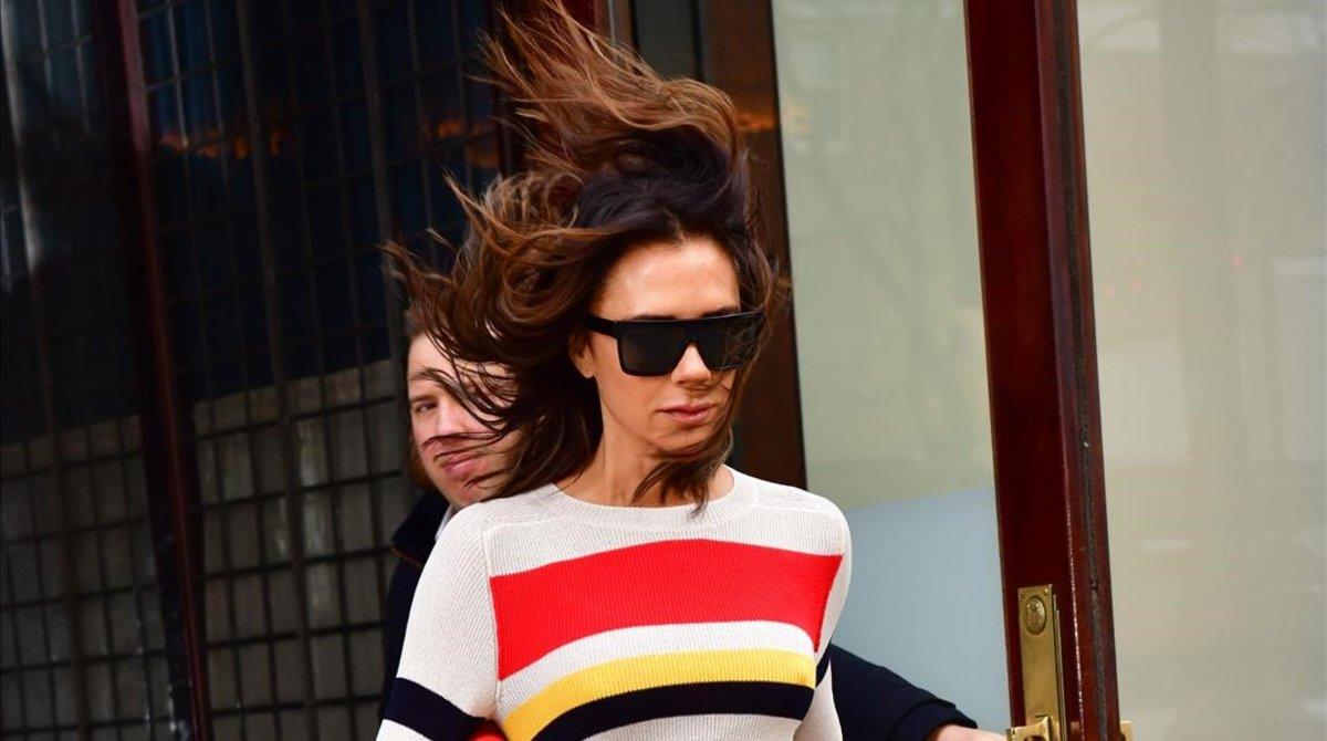 Victoria Beckham, en Nueva York, el pasado 28 de noviembre.