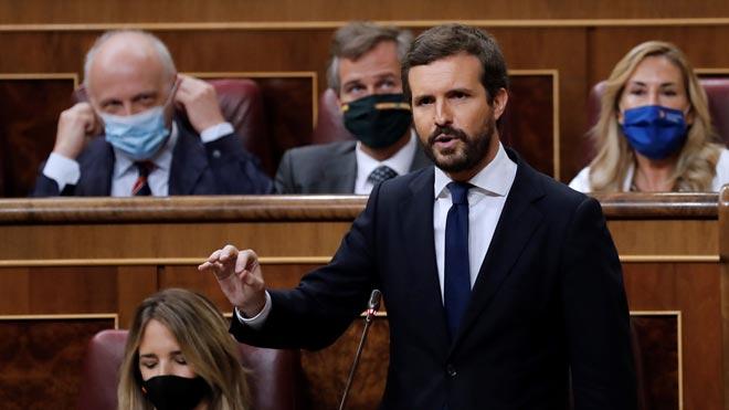 Casado acusa Sánchez d'haver tornat «amb un rescat en tota regla»