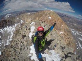 Sergi Mingote corona a Xile el volcà més alt del món