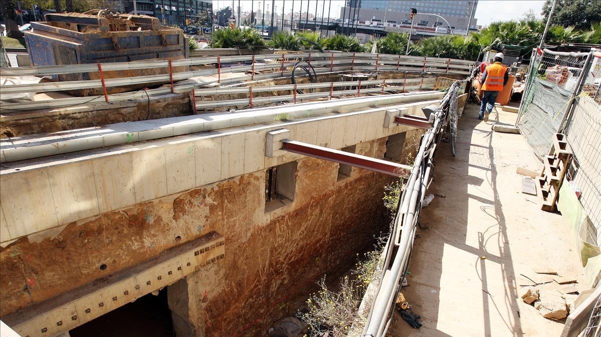 Adif reanudará el día 22 las obras de salidas de emergencia del túnel del AVE