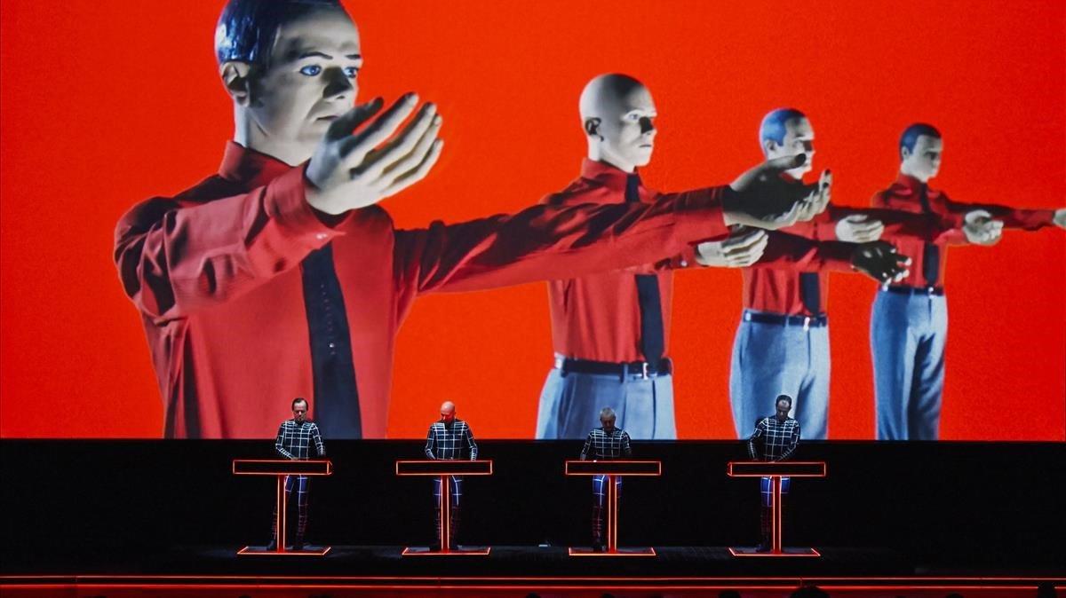 Kraftwerk, en su actuación en el Sónar del 2013.