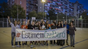Els veïns de Can Baró guanyen la batalla per la seva única zona comunitària