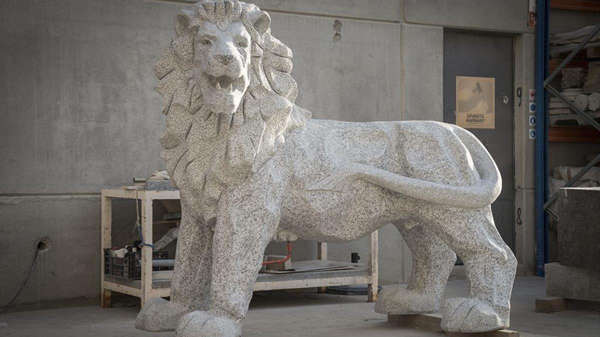 La versión 2.0 del león bíblico de Judá, obra de Lau Feliu.