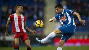 El Girona enfonsa l'Espanyol (0-1)