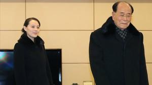 La germana de Kim Jong-un arriba a Corea del Sud per a l'obertura dels Jocs