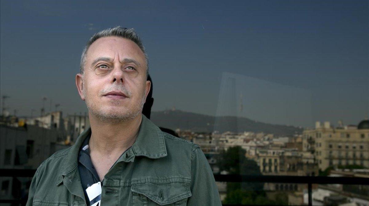 El escritor Toni Hill, autor de Tigres de cristal.