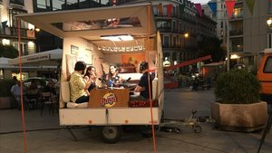 Imagen de la caravana del programa de Movistar+ Radio Gaga.