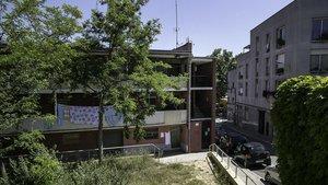 Viviendas del barrio barcelonés de Trinitat Vella.