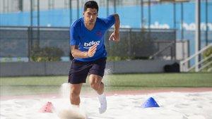 Luis Suárez es posa les piles per no perdre el tren al Barça