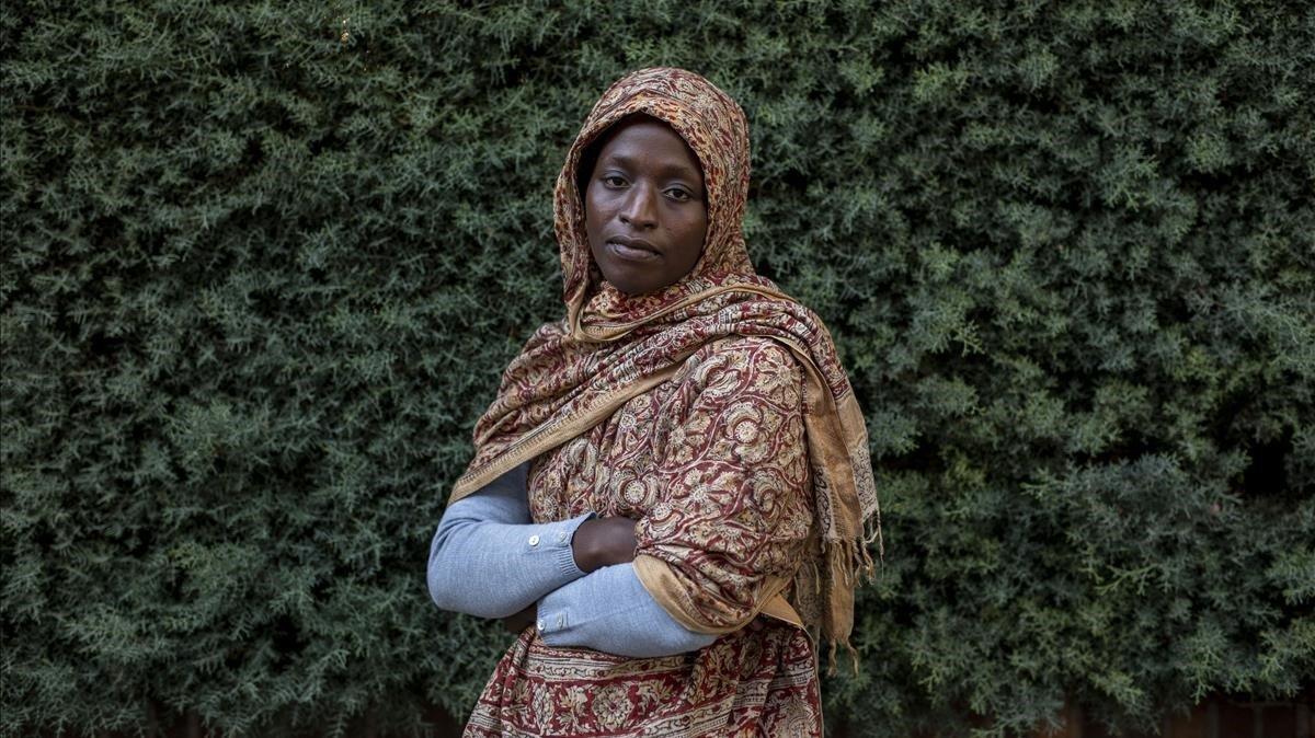Kadiatu, de 17 años, fue forzada a casarse cuando tenía 14.
