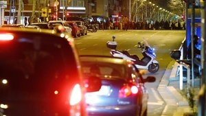 Cada tall de la Meridiana de Barcelona atrapa més de 4.000 cotxes