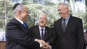 Netanyahu i Gantz pacten un «govern d'emergència nacional» a Israel