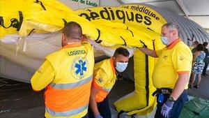 El col·lapse dels CAPs a Lleida impossibilita el rastreig del coronavirus