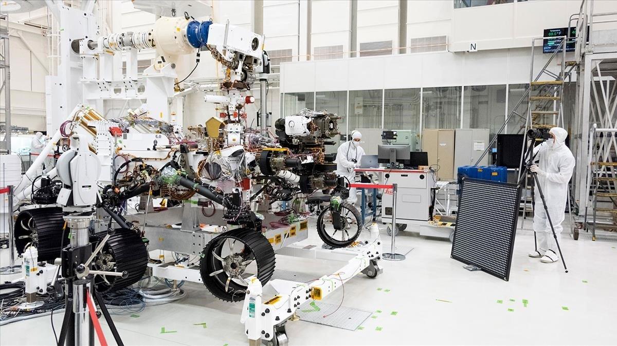 La NASA lanza este jueves su 'Perseverance' para llevar rocas de Marte a la Tierra
