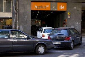 Estación de ITV de Applus en Barcelona.