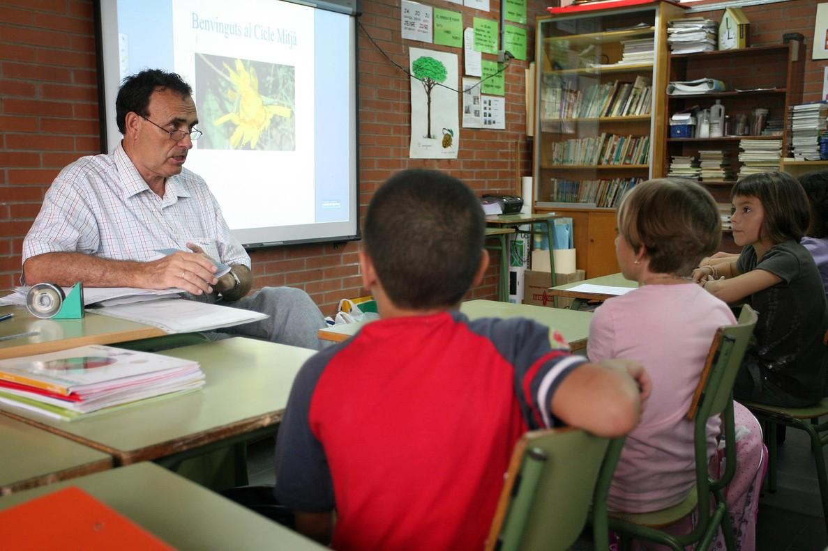 Un profesor, en una imagen de archivo.