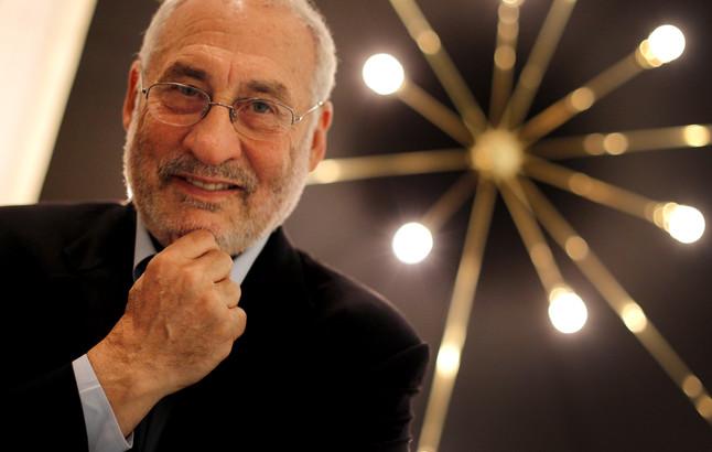 Stiglitz posa para una entrevista a EL PERIÓDICO en 2012.