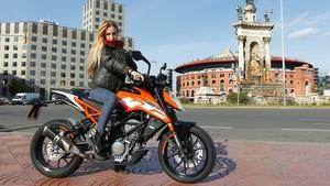 KTM 125 Duke en Barcelona
