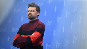 Ramón Salazar, en la presentación en Berlín de La enfermedad del domingo