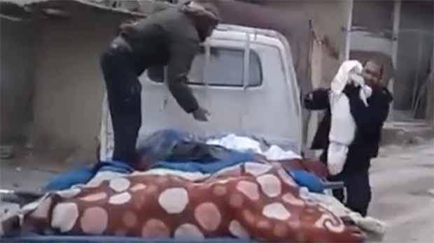 Lúltim adeu dun pare al seu fill a Ghouta