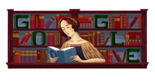 Doodle dedicado a Elena Cornaro Piscopia