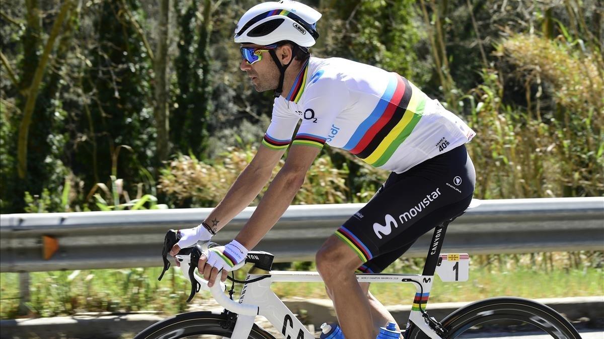 Alejandro Valverde renuncia al Giro
