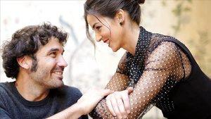 Álex García y Clara Lago, fotografiados esta semana en Madrid