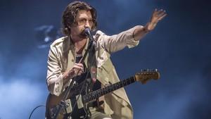 Alex Turner, en el concierto de Arctic Monkeys en el Primavera Sound 2018