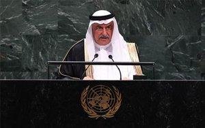 El ministro de Exteriores de Arabia Saudí,Ibrahim al Asaf.