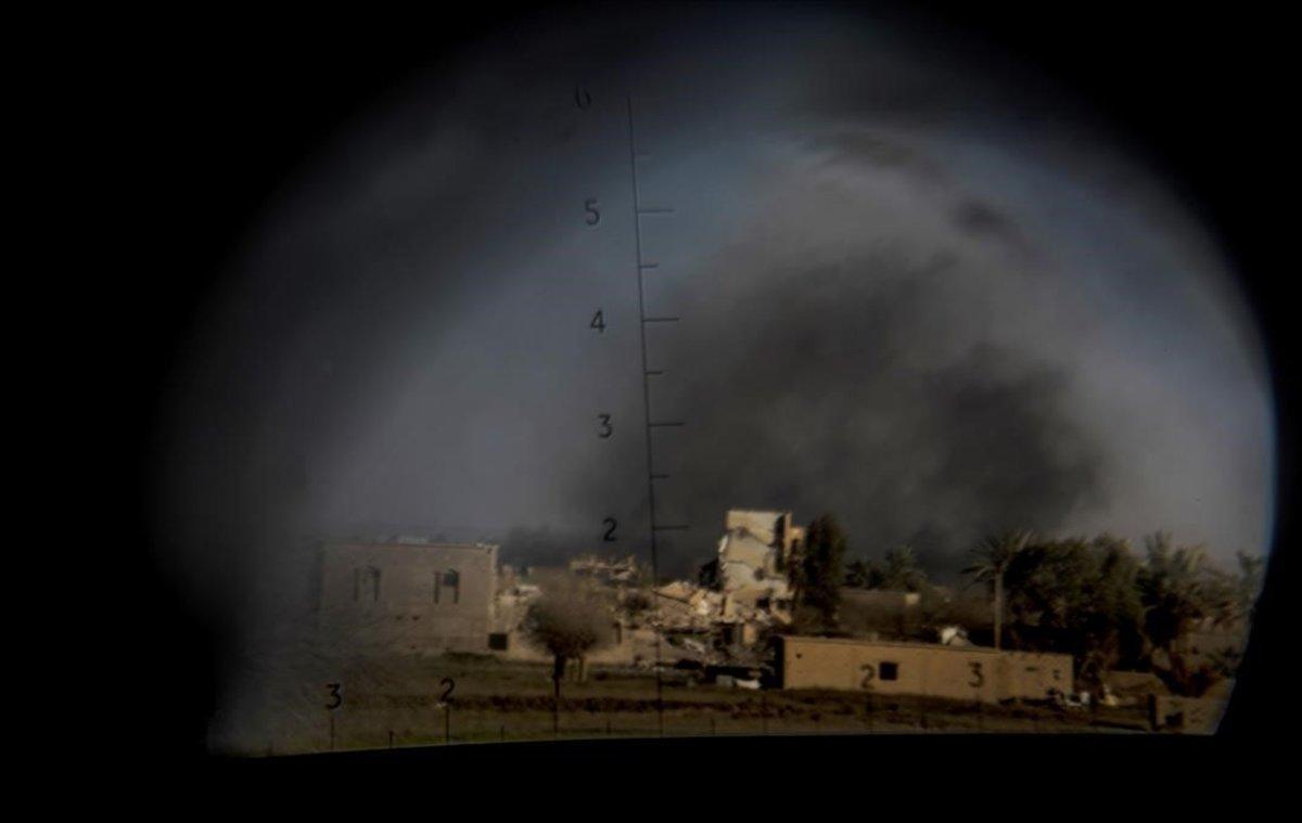 Bombardeo sobre Baguz.