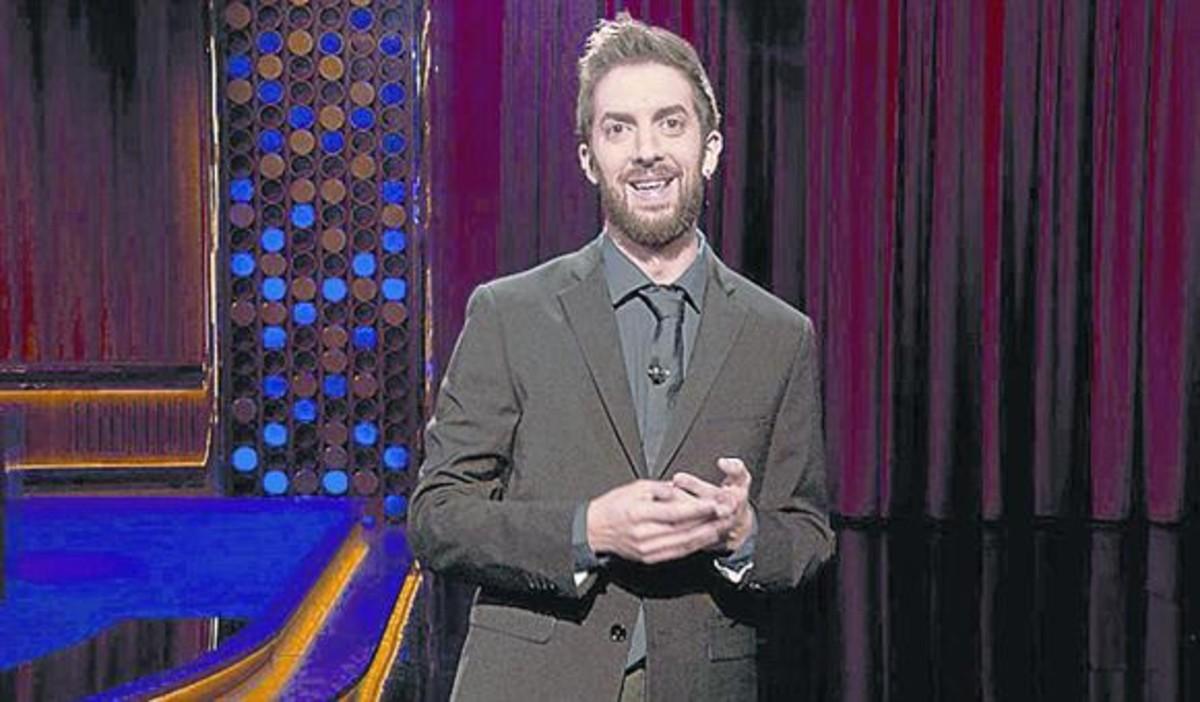 El humorista David Broncano, en 'Late motiv'.