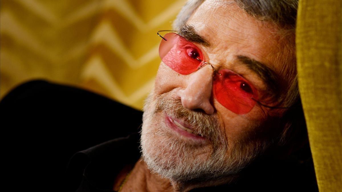 Burt Reynolds, fotografiado en Londres en el 2015