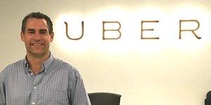 Cameron Poetzscher, el exdirectivo de Uber acusado de acoso sexual.