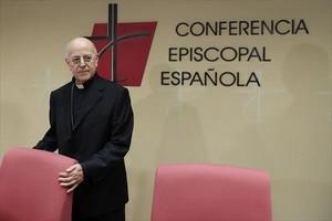 El cardenal Ricardo Blázquez, presidente de la Conferencia Episcopal.