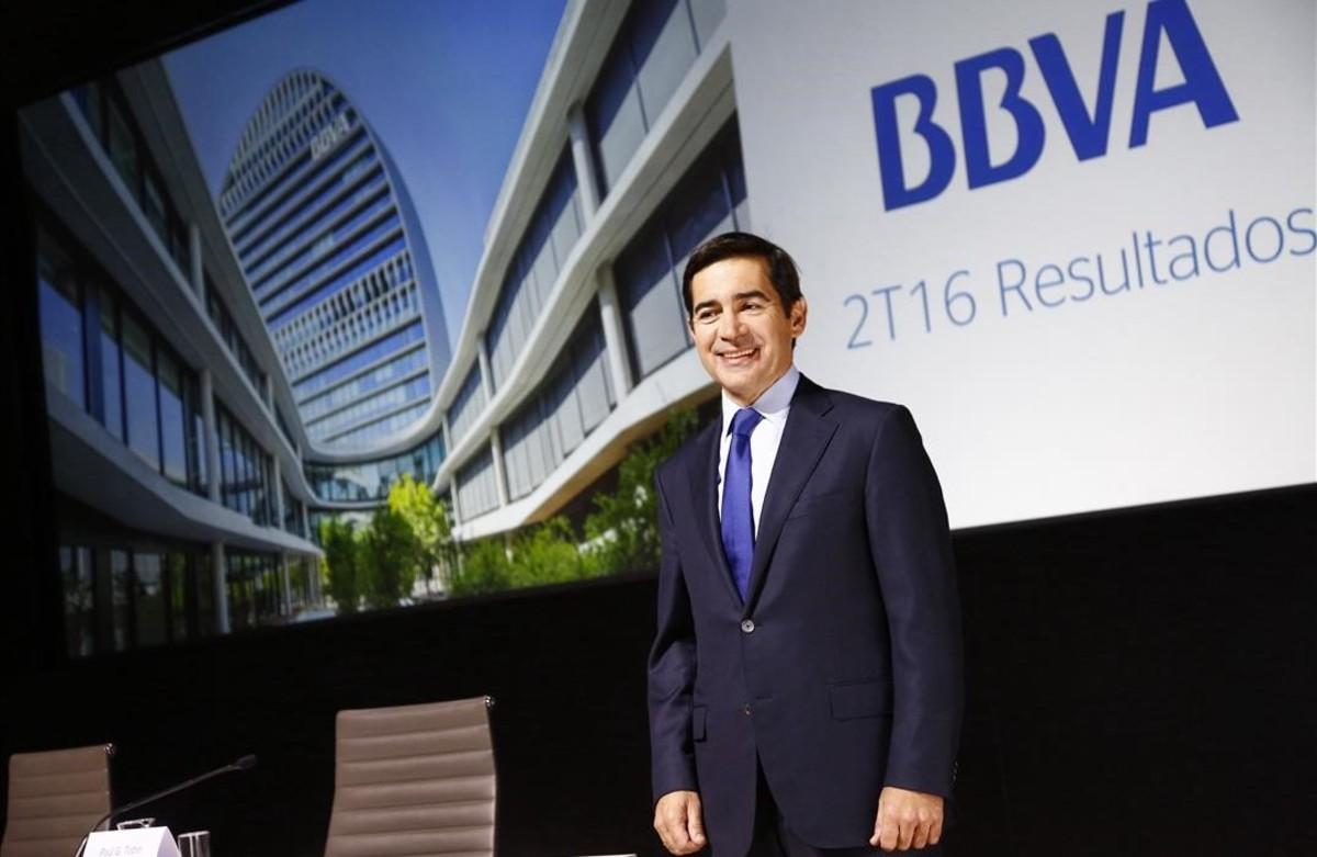 Utilidad de BBVA México disminuye 39.6%