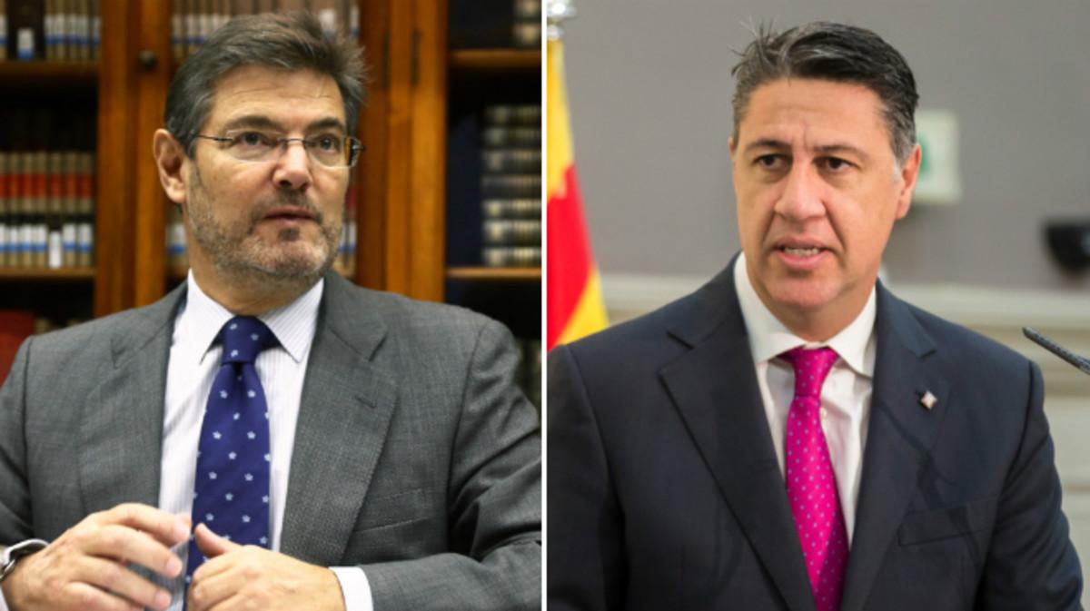 Rafael Catalá y Xavier García Albiol.