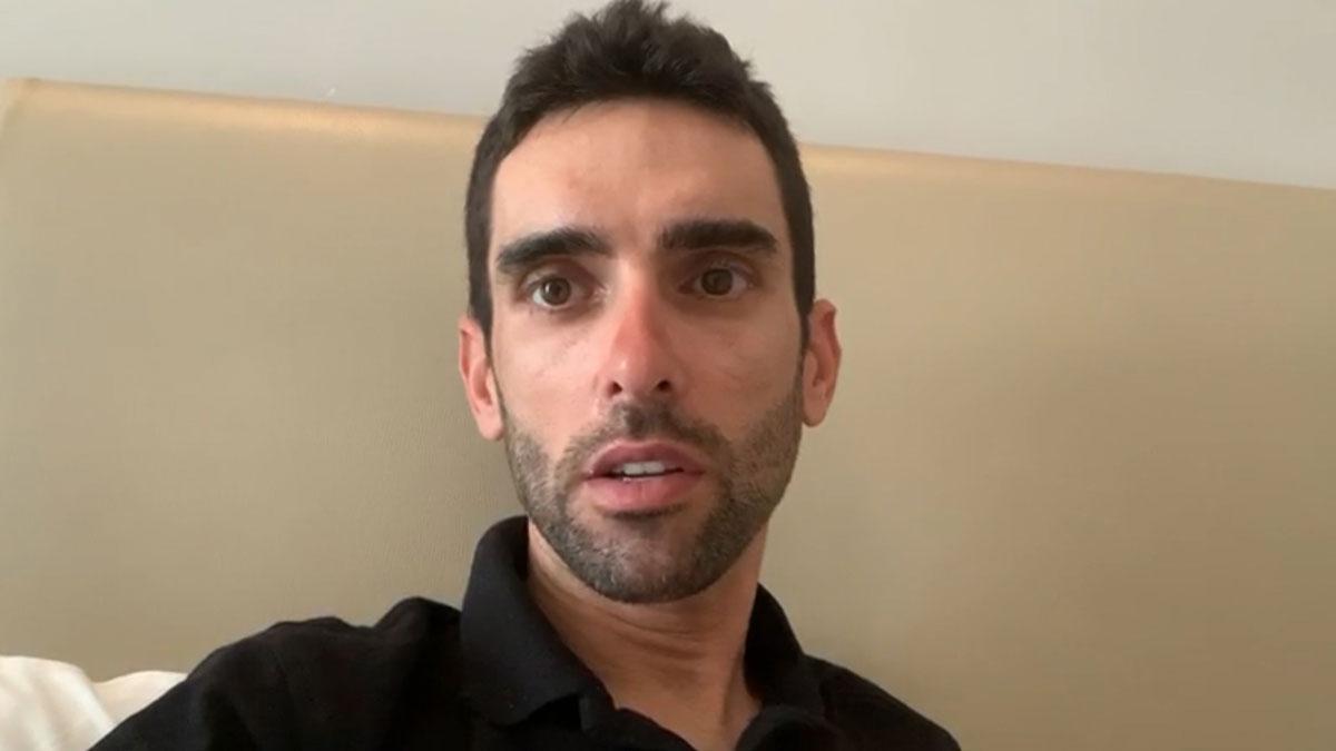 El ciclista Dani Navarro cuenta la situación en los Emiratos Árabes Unidos debido al coronavirus.