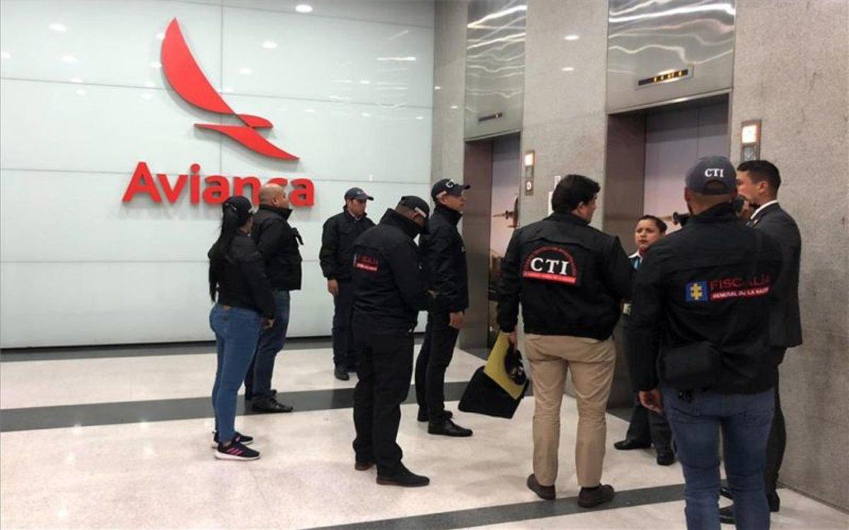 Sede de Avianca en Colombia es allanada por investigación de soborno